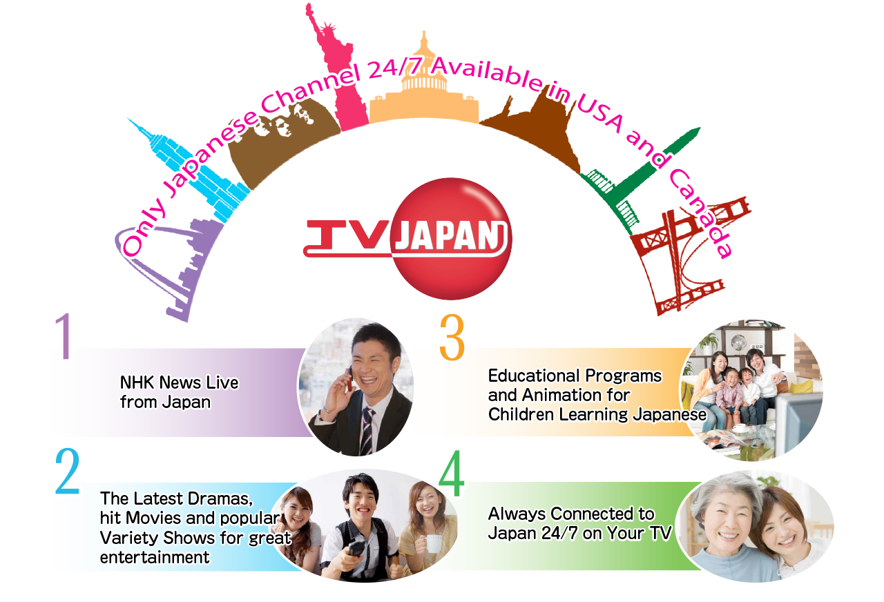 Only Japanese Channel 24/7 available in USA and Canada