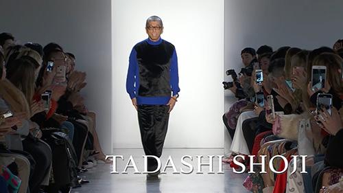 Image: ニューヨーク・ファッション・ウィークに参加の日本人デザイナー、タダシ・ショージさんインタビュー