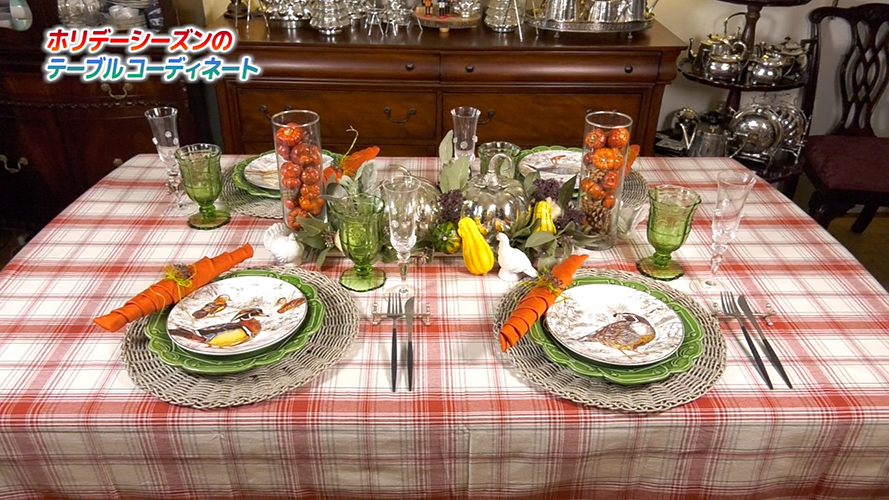 Image: ホリデーシーズンに! 食空間を彩るテーブルコーディネート