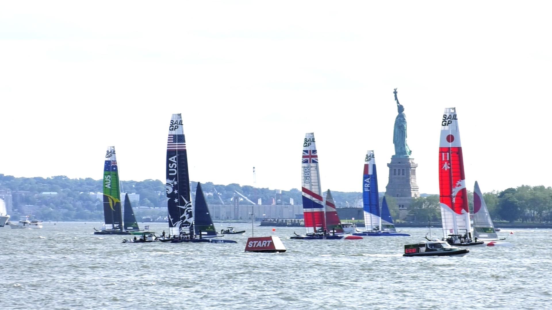 Image: 日本が優勝!ヨットレースの世界大会「Sail GP」&特集:ゴミを出さない生活