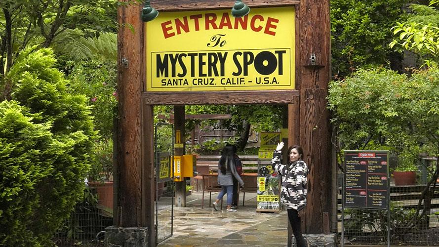 Image: カリフォルニア特集:不思議な体験ミステリースポット