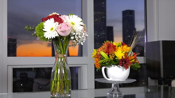 Image: お家を華やかに彩るフラワーアレンジメント